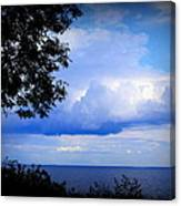 Green Bay Water View Canvas Print
