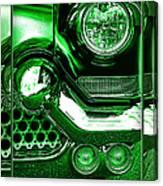 Green Chrome Canvas Print