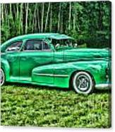 Green Classic Hdr Canvas Print