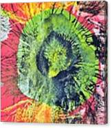 Green Dot Canvas Print