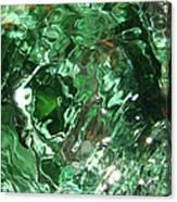 Green Eddy I Canvas Print