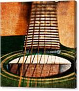 Green Gibson Canvas Print