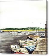 Green Harbor Canvas Print