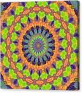 Green Kalidescope Canvas Print