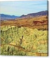 Green Mountains Canvas Print