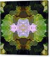 Green Peony Extreme Canvas Print