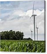 Green Power Canvas Print