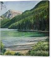 Green River Lake Canvas Print