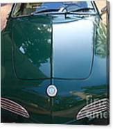Green Volkswagon Karmann Ghia . 7d10088 Canvas Print
