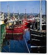 Greencastle, Lough Foyle, Co Donegal Canvas Print