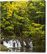 Greenstone Falls 4 Canvas Print