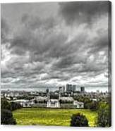 Greenwich And Docklands Hdr Canvas Print