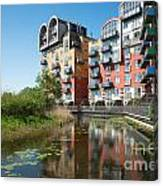 Greenwich Millennium Village Canvas Print