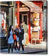 Greenwich Village Bakery Canvas Print