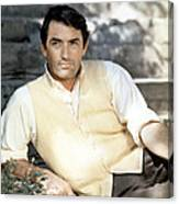 Gregory Peck, Ca. Late 1950s Canvas Print