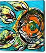 Gretchen Fish A Citrus Twist Canvas Print