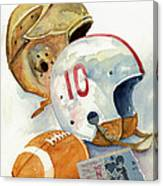 Gridiron Ghosts Canvas Print