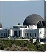 Griffith Observatory II Canvas Print
