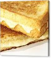 Grilled Cheese Sandwich Canvas Print