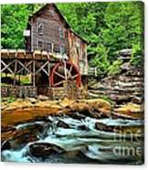 Grist Mill At Babcock Canvas Print