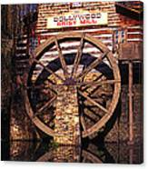 Grist Mill In The Smokies Canvas Print