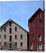 Gristmill At Prallsville Mills Canvas Print