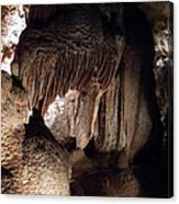 Grotte Magdaleine Sout France In Ardeche Canvas Print