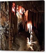 Grotte Magdaleine South France Region Ardeche Canvas Print