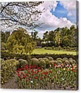 Grounds At Leeds Castle  Canvas Print
