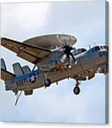 Grumman E-2 Hawkeye Canvas Print