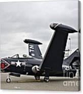 Grumman F9f-5p Panther Canvas Print