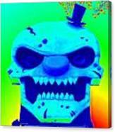 Grunge City Demon 1 Canvas Print