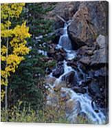 Guanella Falls Canvas Print