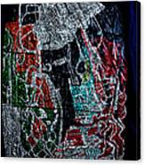 Guardian Knight  Of The Orient Canvas Print