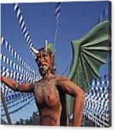 Guatemala Winged Devil Canvas Print