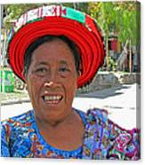 Guatemalan Village Woman Canvas Print
