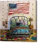 Guest Bedroom Canvas Print