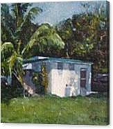 Guest House In Aguada Canvas Print