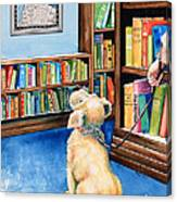 Guide Dog Training Canvas Print