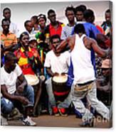 Guinean Dancing  Canvas Print