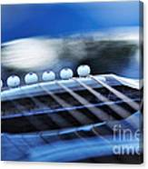 Guitar Abstract 4 Canvas Print