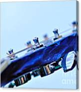 Guitar Abstract 5 Canvas Print