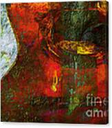 Guitar ..abstract  Canvas Print