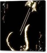 Guitar Music Poster Canvas Print