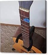Guitar Slant Canvas Print