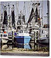 Gulf Boats Canvas Print