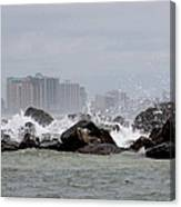 Gulf Of Mexico - More Waves Canvas Print