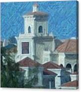Gulfstream Village Canvas Print