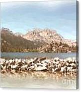Gull Lake Canvas Print