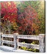Gunner Bridge Canvas Print